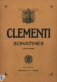 Ok�adka: Clementi Muzio, Sonatines Op. 36/37/38