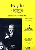 Ok�adka: Haydn Franz Joseph, 4 sonates pour clavier vol. 2:sonate As-dur (hob XVI/46)