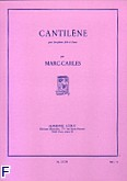 Okładka: Marc-Carles, Cantilene