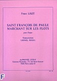 Okładka: Liszt Franz, Saint Francois de Paule marchant sur les flots
