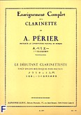 Okładka: Perier A., Debutant clarinettiste