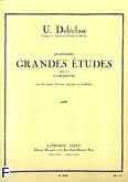 Ok�adka: Delecluse Ulysse, 14 grandes etudes clarinette