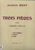 Ok�adka: Ibert Jacques, 3 pieces