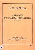 Ok�adka: Weber Carl Maria von, Andante et rondo hongrois Op. 35