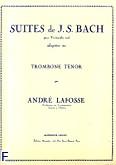 Okładka: Bach Johann Sebastian, Suites trombone tenor