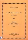 Ok�adka: H�ndel George Friedrich, Concerto en fa mineur