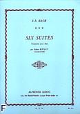 Ok�adka: Bach Johann Sebastian, 6 suit na alt�wk� solo