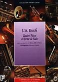 Okładka: Bach Johann Sebastian, 4 pieces en forme de suite trompette ut ou sib et piano