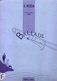 Okładka: Bozza Eugene, Ballade trombone tenor et piano