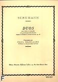 Okładka: Schumann Robert, Duos violon, violoncelle et piano