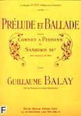 Okładka: Balay Guillaume, Prelude et ballade