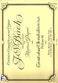 Okładka: Bach Johann Sebastian, Oeuvres completes pour orgue vol. 11