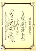 Okładka: Bach Johann Sebastian, Oeuvres completes pour orgue vol 1. 9 preludes et fugues