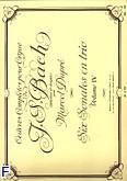 Ok�adka: Bach Johann Sebastian, Oeuvres completes pour orgue vol 4. 6 sonates en trio