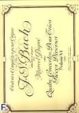 Ok�adka: Bach Johann Sebastian, Oeuvres completes pour orgue vol 06. 4 concertos/2 trios/pieces diverses
