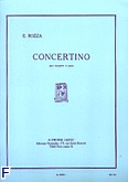 Ok�adka: Bozza Eugene, Concertino trompette ut et piano