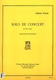 Okładka: Pierné Gabriel, Solo de concert Op. 35 pour Basson et Piano
