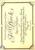 Okładka: Bach Johann Sebastian, Oeuvres completes pour orgue vol. 12