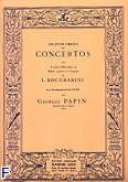 Okładka: Boccherini Luigi Rodolpho, 3 concerto (G-dur) violoncelle