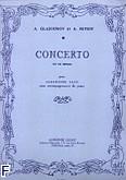 Ok�adka: Glazounov A., Petiot A., Concerto Es-dur