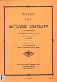 Ok�adka: Weber Carl Maria von, Concerto nr 2 Es-dur Op. 74