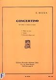 Okładka: Bozza Eugene, Concertino Op. 49 pour bassoon et piano