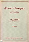 Okładka: Abbott Alain, Oeuvres Classiques Vol. 2 - Accordéon