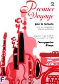 Okładka: Montury Philippe, Premier Voyage... Clarinette et Piano Vol.2