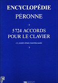 Okładka: Peronne P., Encyclopédie : 5724 Accords pour le Clavier