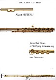 Ok�adka: Huteau Alain, Jazzo-Flute Blues, Wolfgang Amadeus Rag