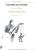 Ok�adka: Gauffriau Jean, Esquisses  Vol.1 - 4 Guitares