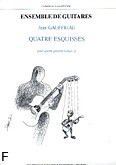 Okładka: Gauffriau Jean, Esquisses  Vol.2 - 4 Guitares