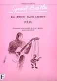 Okładka: Lennon John, Julia - 4 ou 5 Guitares Arrgt. COUASNON