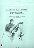Okładka: Lennon John, Lady Madonna - 6 Guitares Arrgt. COUASNON
