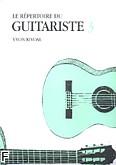 Okładka: Rivoal Yvon, Répertoire du Guitariste Vol.3