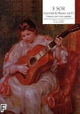 Okładka: Sor Fernando, Souvenir de Russie op. 63 Rév. CACERES - duo