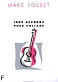 Okładka: Fosset Marc, 1000 Accords pour Guitare