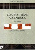 Okładka: Gomez-Crespo Jorge, Cuatro Temas Argentinos