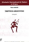 Okładka: Heinze Walter, Triptico Argentino - solo