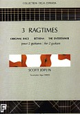 Okładka: Joplin Scott, Ragtimes  - 2 Guitares.