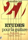 Ok�adka: Sor Fernando, Etudes pour la guitare