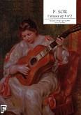 Okładka: Sor Fernando, Fantasia Op.4 N°2 Rév. CACERES Oscar