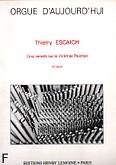 Okładka: Escaich Thierry, Cinq Versets sur le Victimae Paschali
