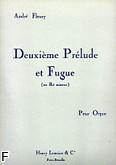 Okładka: Fleury André, Prélude nr 2 et Fugue d-moll