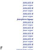 Ok�adka: Leguay Jean-Pierre, Sonate N�2