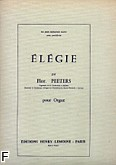 Ok�adka: Peeters Flor, El�gie Op. 38