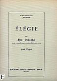 Okładka: Peeters Flor, Elégie Op. 38