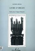 Okładka: Rogg Lionel, Livre d'Orgue