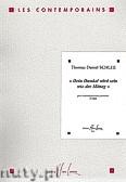 Okładka: Schlee Thomas Daniel, Dein Dunkel wird sein wie der Mittag op. 30 - solo