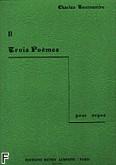 Okładka: Tournemire Charles, Trois Poemes nr 2